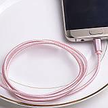 Кабель USB Hoco X2 Lightning Rose gold, фото 4