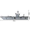 Конструктор Военный корабль Brick 113 990 деталей, фото 5