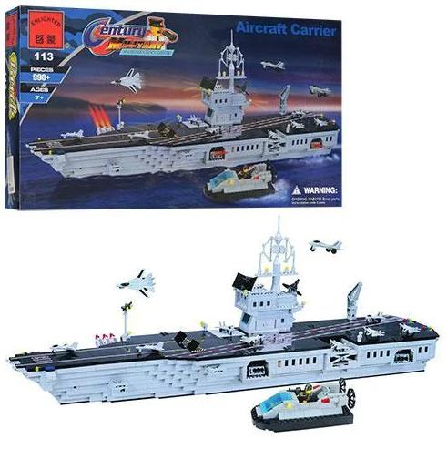 Конструктор Военный корабль Brick 113 990 деталей