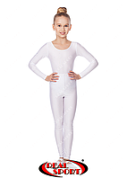Белые лосины для танцевGM040046(эластан, р-р S-M, рост 152-165 см)