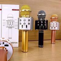 Беспроводной микрофон Караоке Bluetooth 4.0 Wester WS-858
