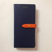 Чехол для Lenovo Vibe K6 Goospery Diary Blue