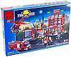 Конструктор Пожарная тревога Пожарная часть и техника Brick 911 980 деталей, фото 6