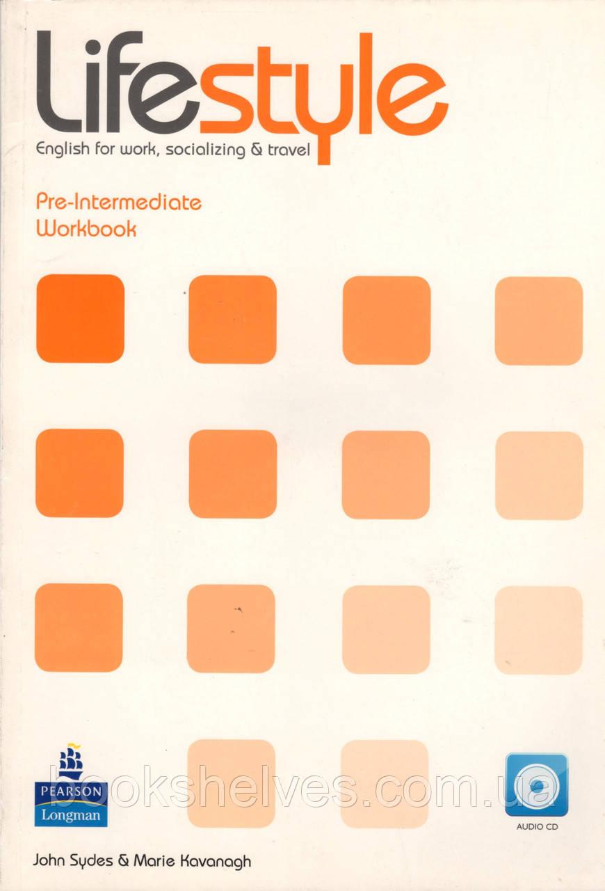 Рабочая тетрадь Lifestyle Pre-Int Workbook+cd