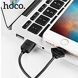 Кабель USB Hoco X17 Showy Lightning iPhone Black, фото 2