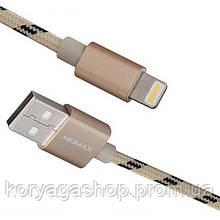 Кабель Momax Elite Lightning Cable 1M Gold