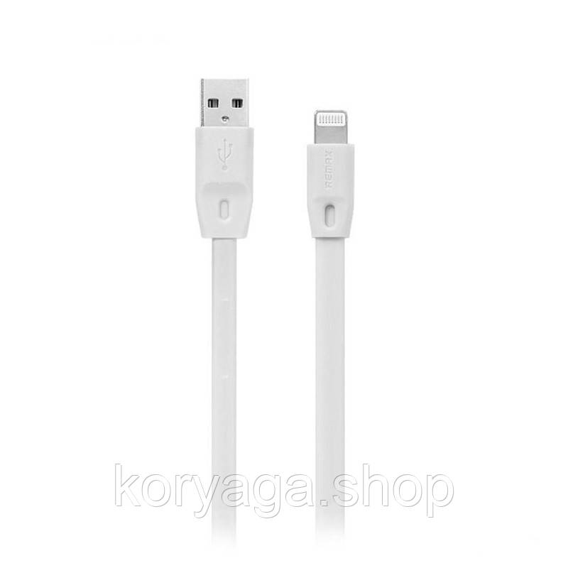 Кабель Remax Full Speed RC-001i USB - Lightning 1 м White