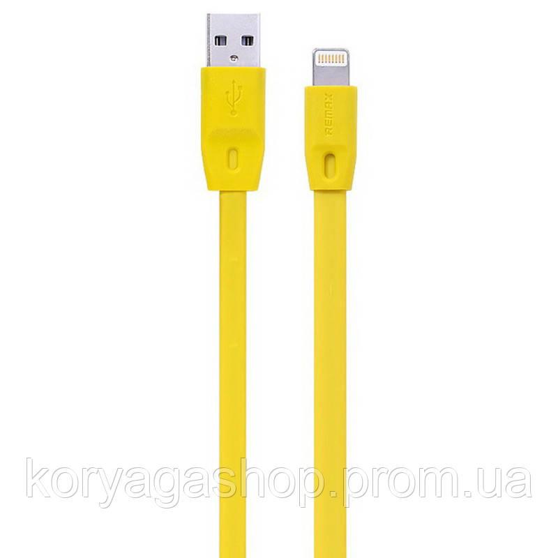 Кабель Remax Full Speed RC-001i USB - Lightning 2 м Yellow