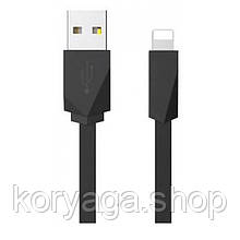 Кабель USB Usams Rhombic US-SJ083 Lightning (1M) Black
