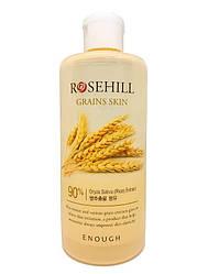 Тонер с экстрактом риса и центеллой азиатской Enough Rosehill Grains skin