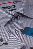 Серая мужская рубашка Graf 13-sl