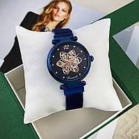 Часы наручные женские механические Forsining Синие