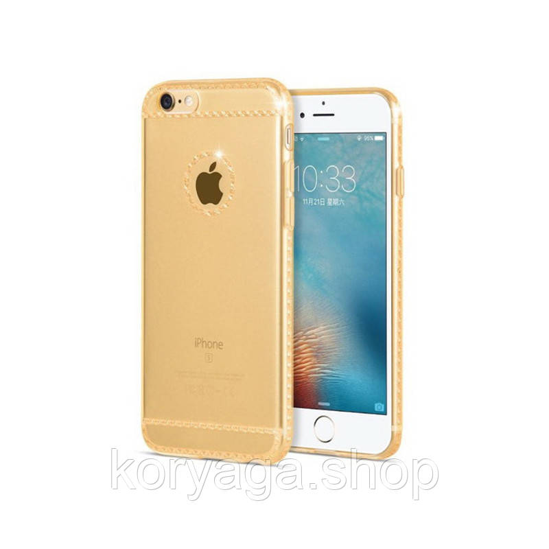Чехол Hoco Ice Crystal series для iPhone 6 Plus/6S Plus Gold