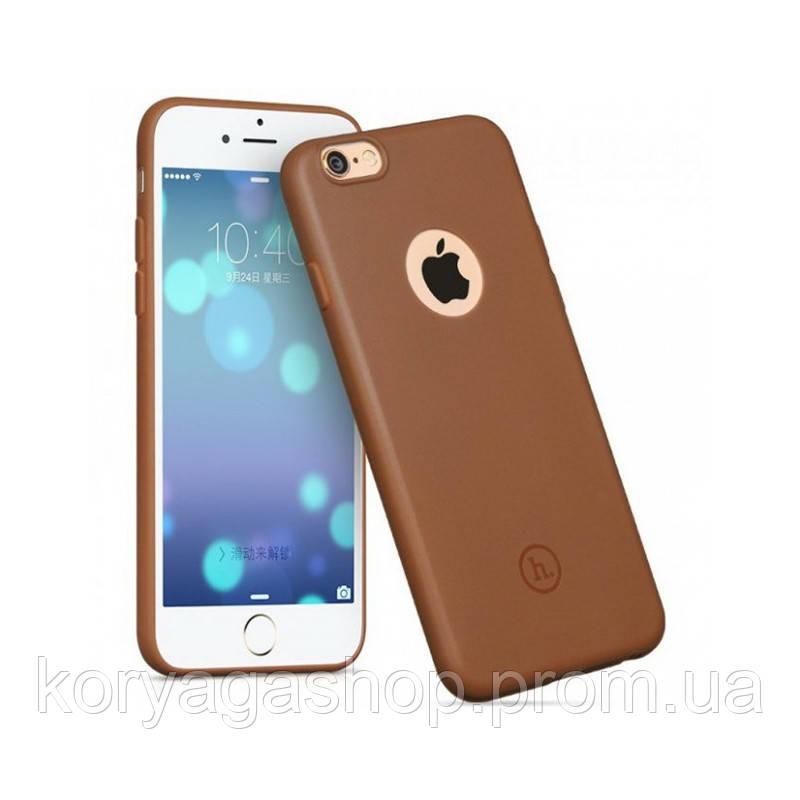 Чехол Hoco Juice series back cover TPU для iPhone 6 Plus/6S Plus Brown