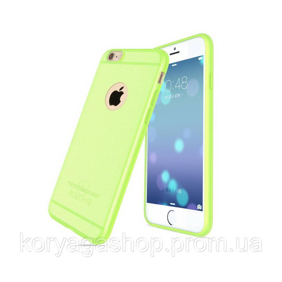 Чехол Hoco Light Series Frosted TPU для iPhone 6 Plus/6S Plus Green