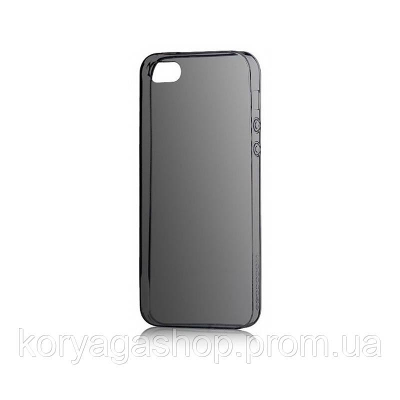 Чехол Hoco Light Series TPU для iPhone 5/5S Black