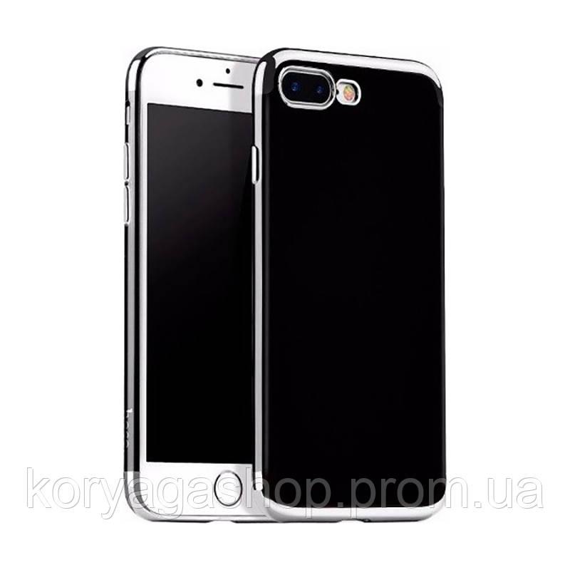 Чехол-накладка Obsidian series protective для iPhone 7 Plus Silver