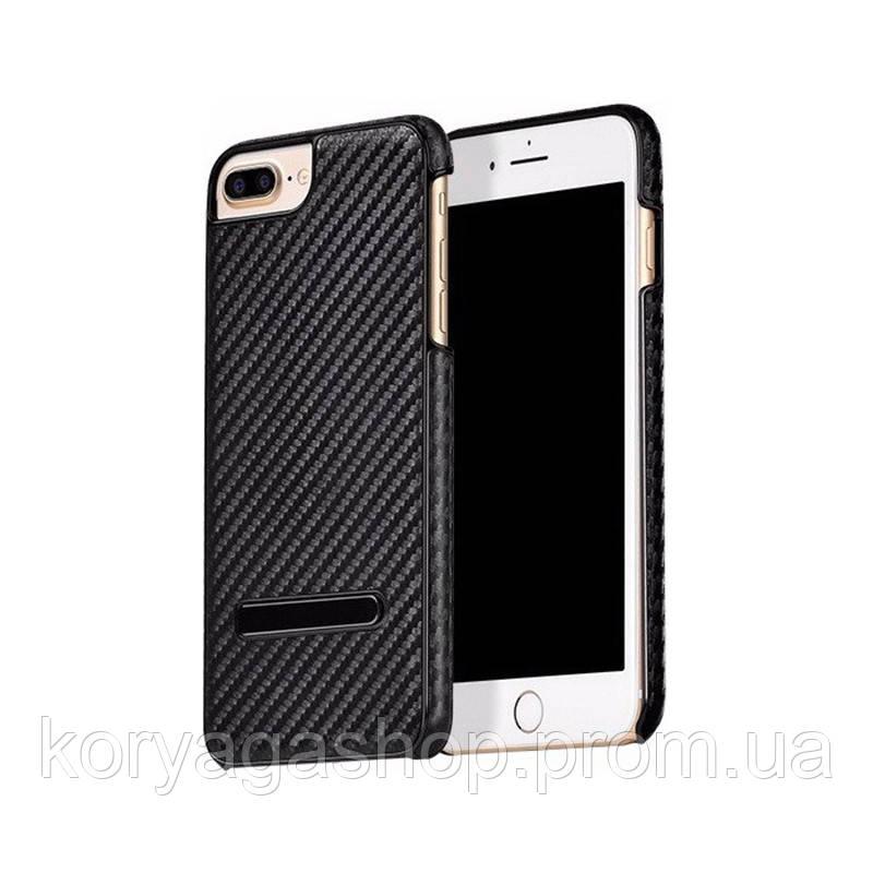 Чехол-накладка Hoco Platinum series carbon fiber для iPhone 7/8 Black