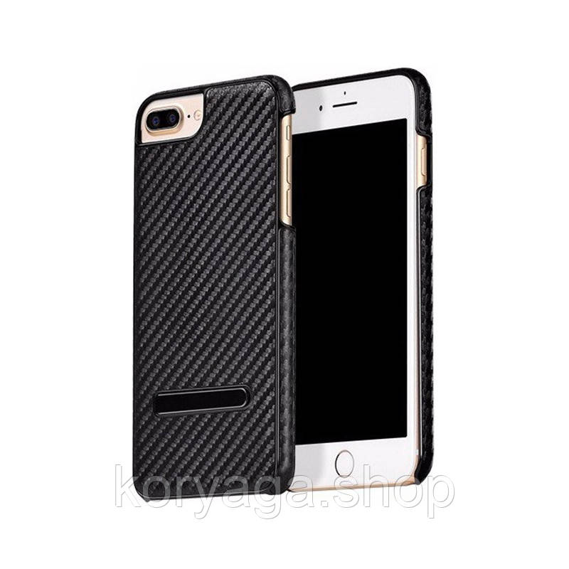Чехол-накладка Hoco Platinum series carbon fiber для iPhone 7 Plus Black