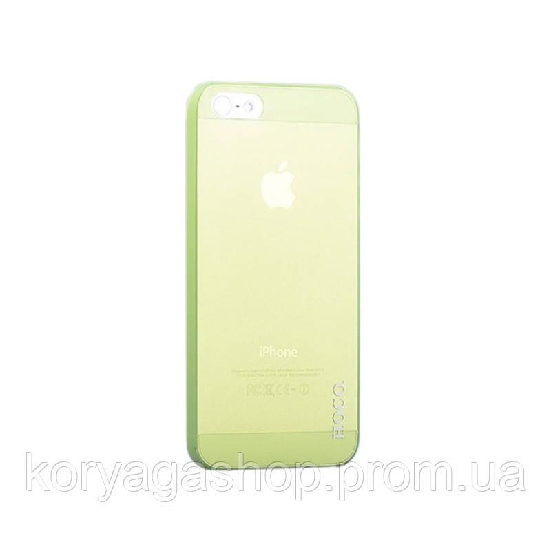 Чехол накладка Hoco Ultra-Thin Series PP Back Cover для Apple iPhone 5/5S Green