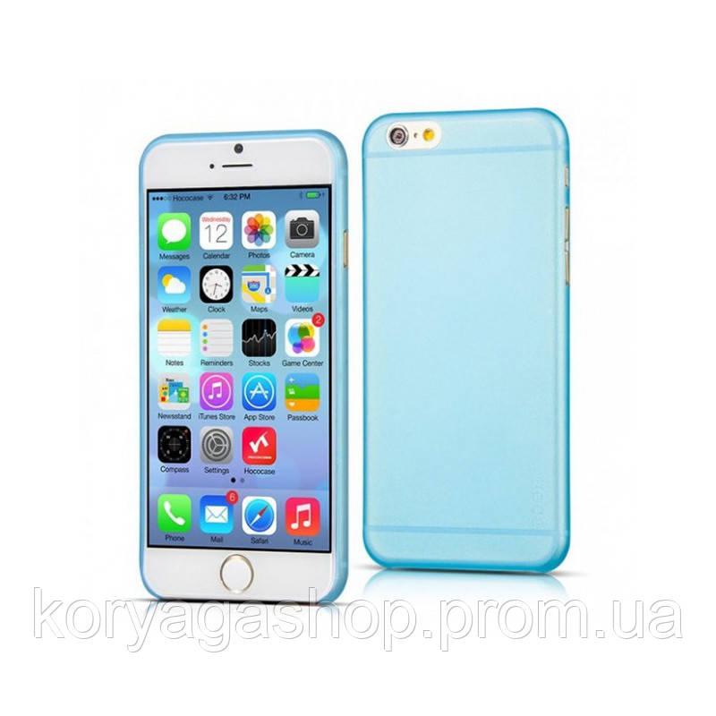 Чехол накладка Hoco Ultra-Thin Series PP Back Cover для Apple iPhone 6 Plus/6S Plus Blue