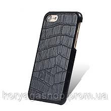 Чехол-накладка Melkco Crocodile Skin Pattern TPU для iPhone 6/6S Black