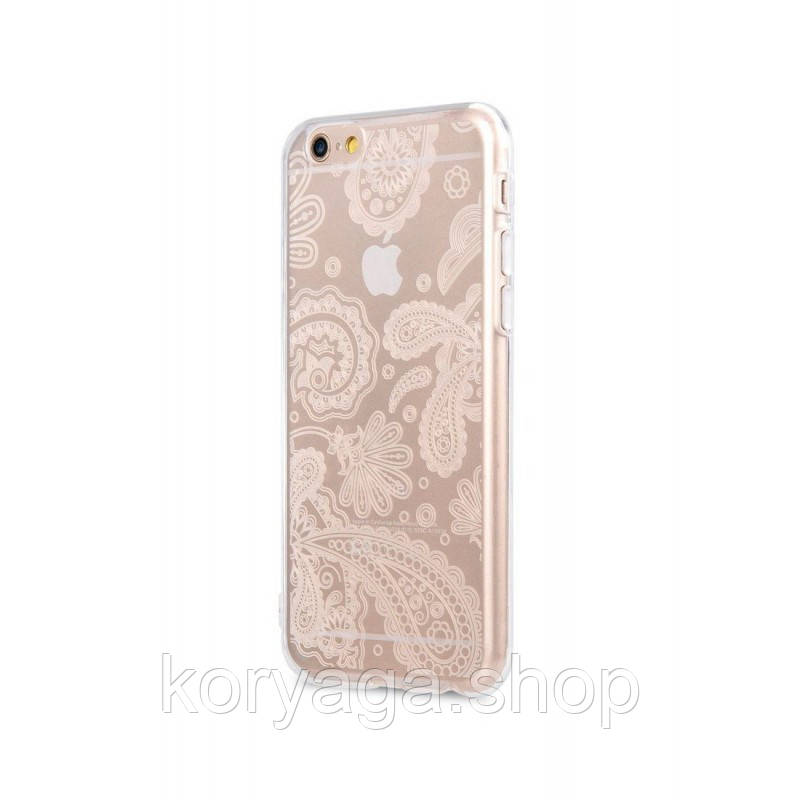 Чехол-накладка Melkco Nation Amoeba TPU для iPhone 6/6S Transparent