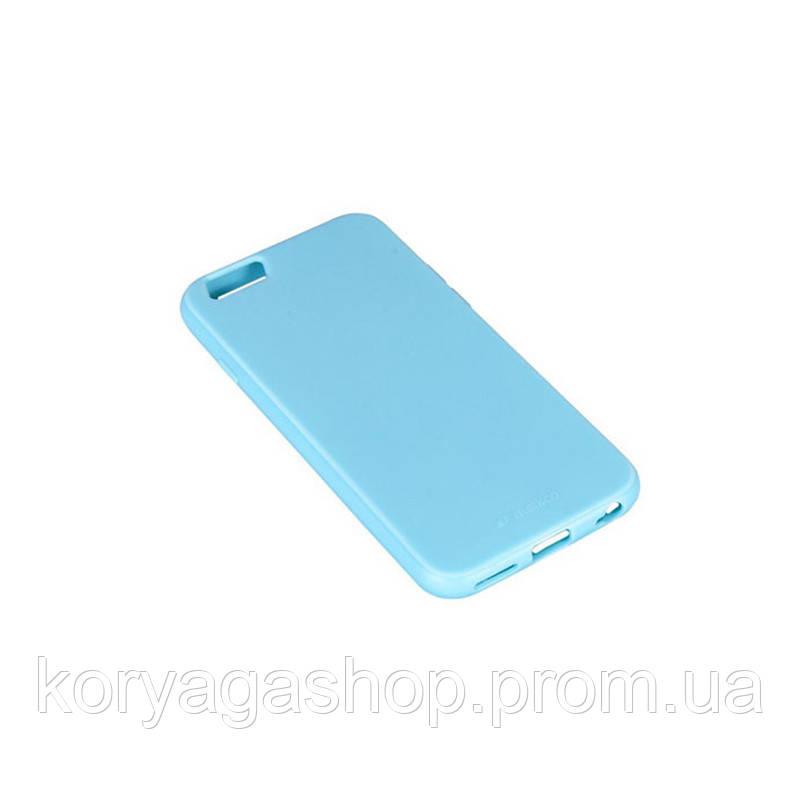 Чехол-накладка Melkco Silikonovy Case для iPhone 6/6s Blue
