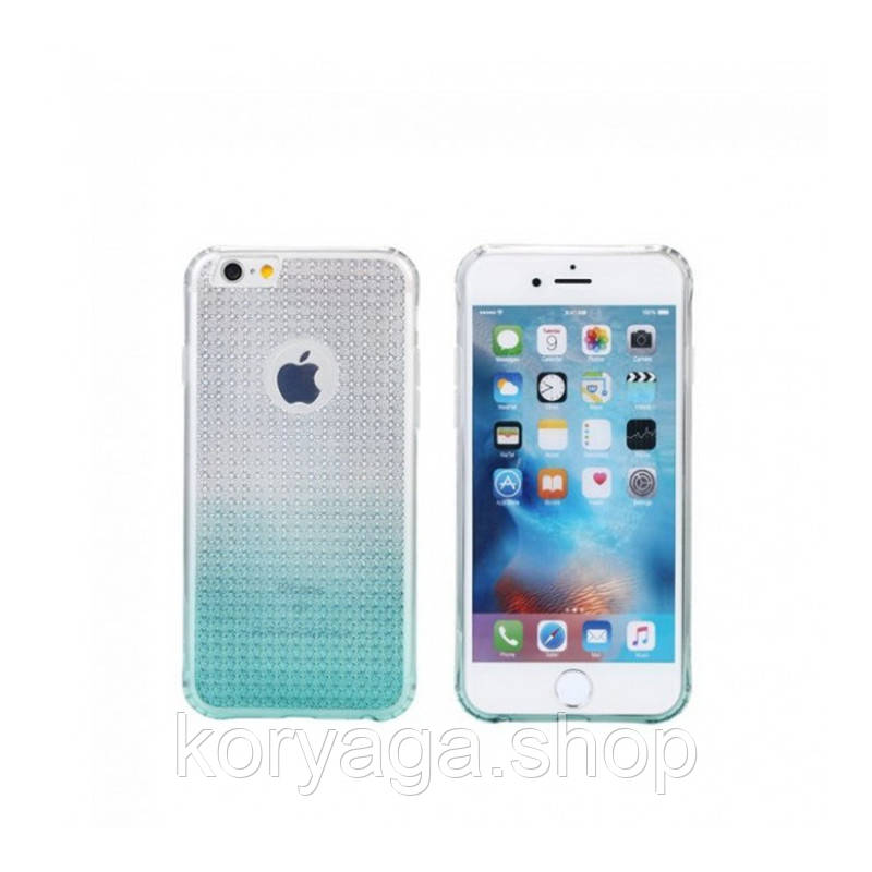 Чехол-накладка Remax Bright Gradient для iphone 6/6S Blue
