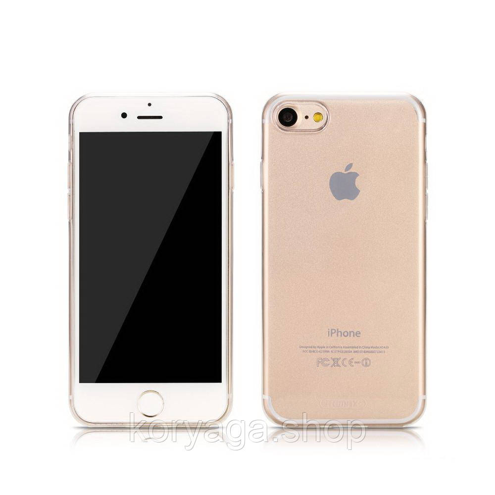 Чехол-накладка Remax Crystal TPU для iphone 7/8 Rose Gold