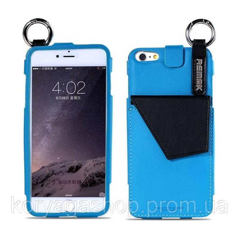 Чехол-накладка Remax K-cool для iphone 6/6S Blue