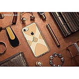 Чехол-накладка Remax X Ring Holder для Apple iPhone 7/8 Gold, фото 4