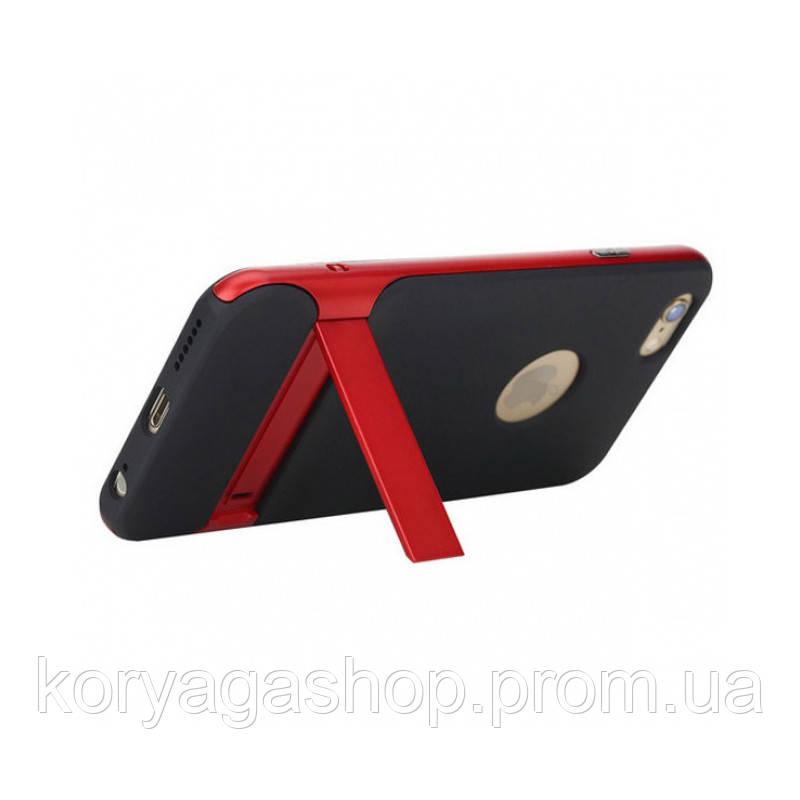 TPU+PC чехол Rock Royce Series с функцией подставки для Apple iPhone 6 Plus/6S Plus Red