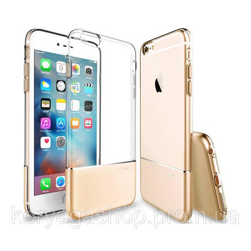 Чехол-накладка Usams Ease Apple iPhone 7 Gold