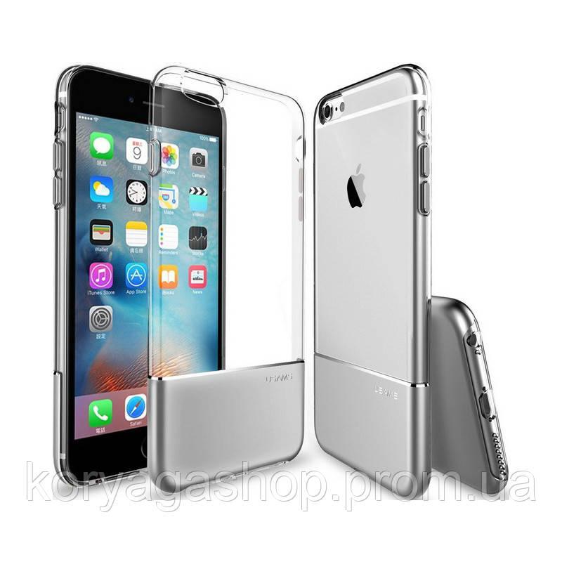 Чехол-накладка Usams Ease Apple iPhone 7 Silver