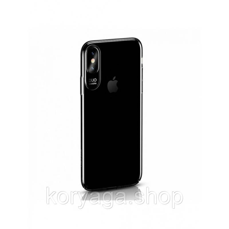 Чехол-накладка Usams Jerry Series Apple iPhone X Transparent