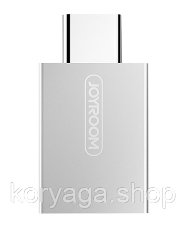 Переходник Joyroom S-M204 HUI series Type-C Switch to USB 3.0 Grey