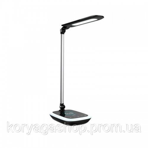 Лампа HOCO Splendid light eye care lamp with wireless charger Black