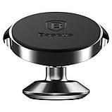 Автодержатель Baseus Small ears series Magnetic suction bracket (Vertical type) Black, фото 2