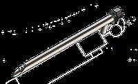 Шнек для подачи пеллет 1.5 м