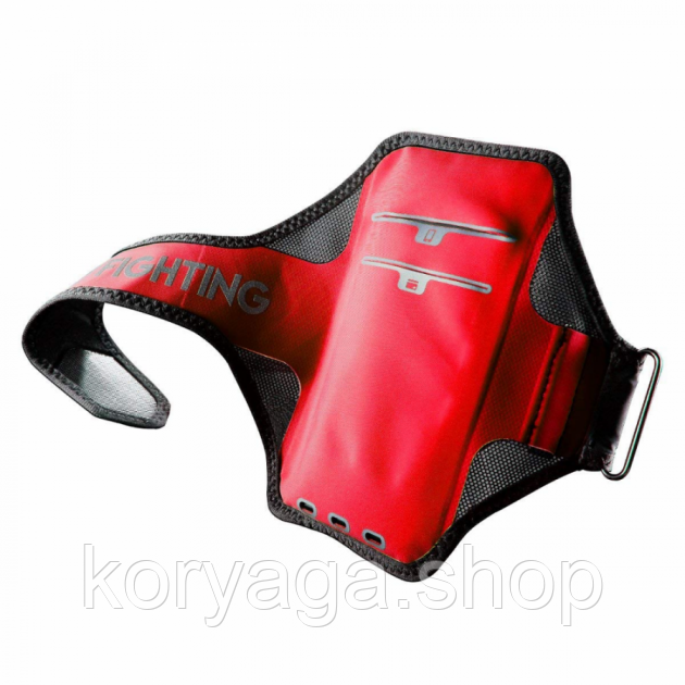 "Спортивный чехол на руку Baseus Move Armband 5"" Black and Red"