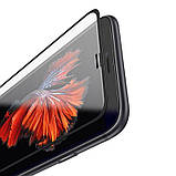 Защитное стекло Hoco Narrow Edges 3D Full Screen HD для Iphone 6/6S/7/8 Black, фото 2