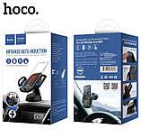 Автодержатель Hoco CA32 Platinum infrared auto-induction Black, фото 3