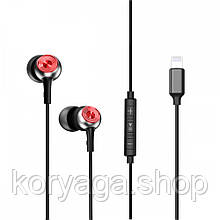 Наушники Baseus P02 lightning Call Digital Gray