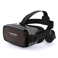 Очки виртуальной реальности Shinecon VR SC-G07E Black, фото 1