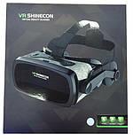 Очки виртуальной реальности Shinecon VR SC-G07E Black, фото 5