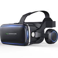 Очки виртуальной реальности Shinecon VR SC-G04E Black, фото 1