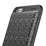 Чехол-PowerBank Baseus Plaid Backpack 7300mAh для iPhone 6  Plus/6S Plus Black, фото 3
