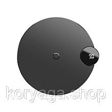 Беспроводное зарядное устройство Baseus Digtal LED Display Wireless Charger Black
