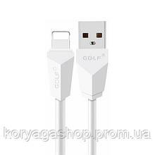 Кабель Golf GC-27I Diamond USB Lightning cable 2M White
